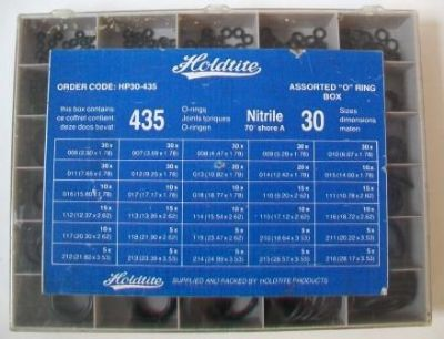 Holdtite Plumbers Rubber O Ring Box Large - 72000222